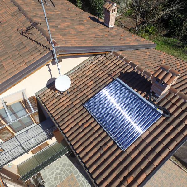 Pannelli solari acqua calda - Solar termica - Sandro Cordero Avigliana